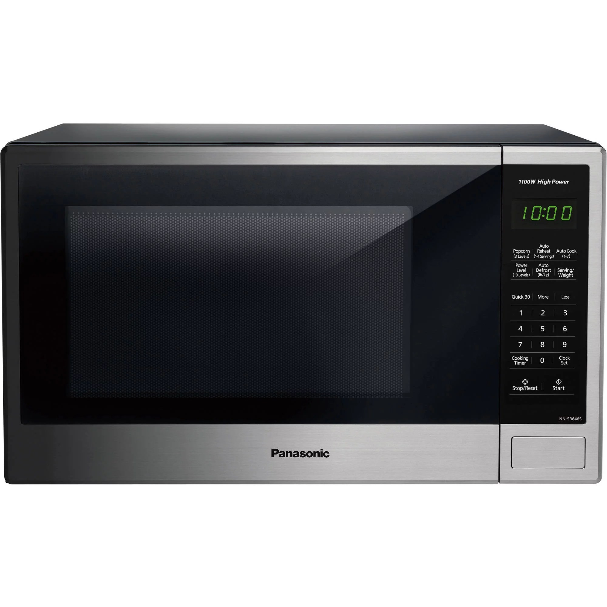 Big W Microwaves Panasonic 1 3 Cu Ft Microwave Oven Stainless Ebay
