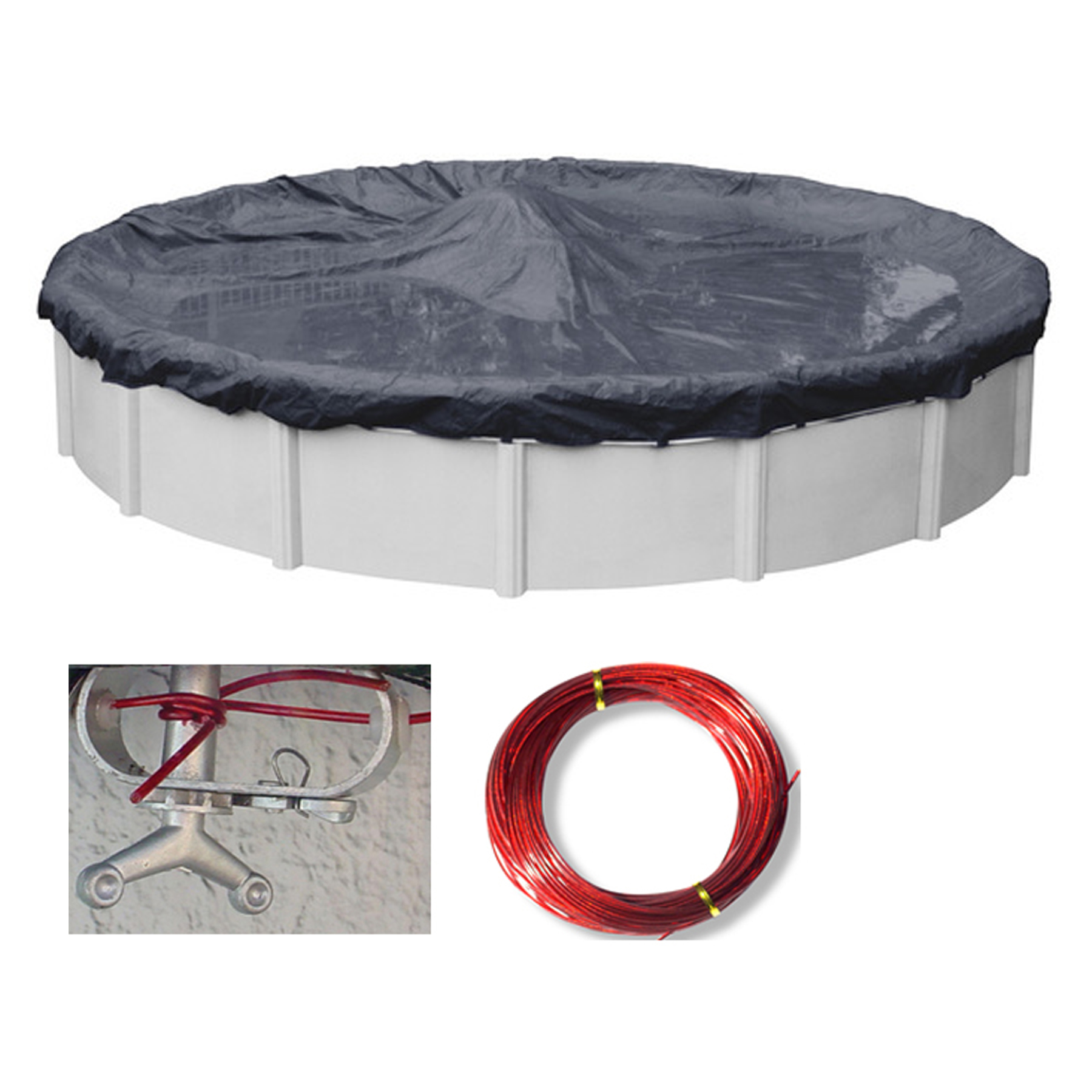 Above Ground Pool Winter Cover 24 Ft Round Above Ground Swimming Pool Winter Covers Various Styles