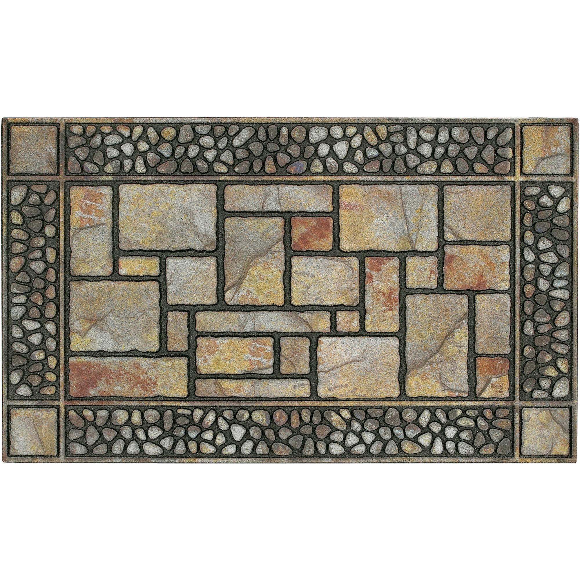 Mohawk Home Doorscapes Patio Stones Mat Walmartcom