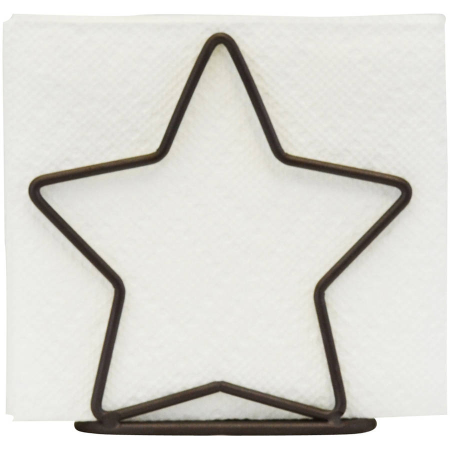 Southern Homewares Star Napkin Holder Bronze Walmartcom