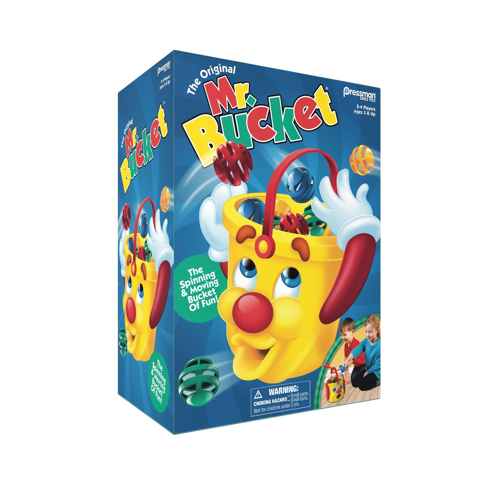 Pressman Toy Mr Bucket Kids Game For Ages 3 And Up