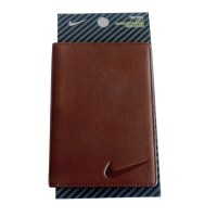 NEW Nike 2-IN-1 Brown Pebble ScoreCard/Yardage Book Holder ...