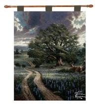 "Thomas Kinkade ""Country Road Home"" Wall Art Hanging ..."