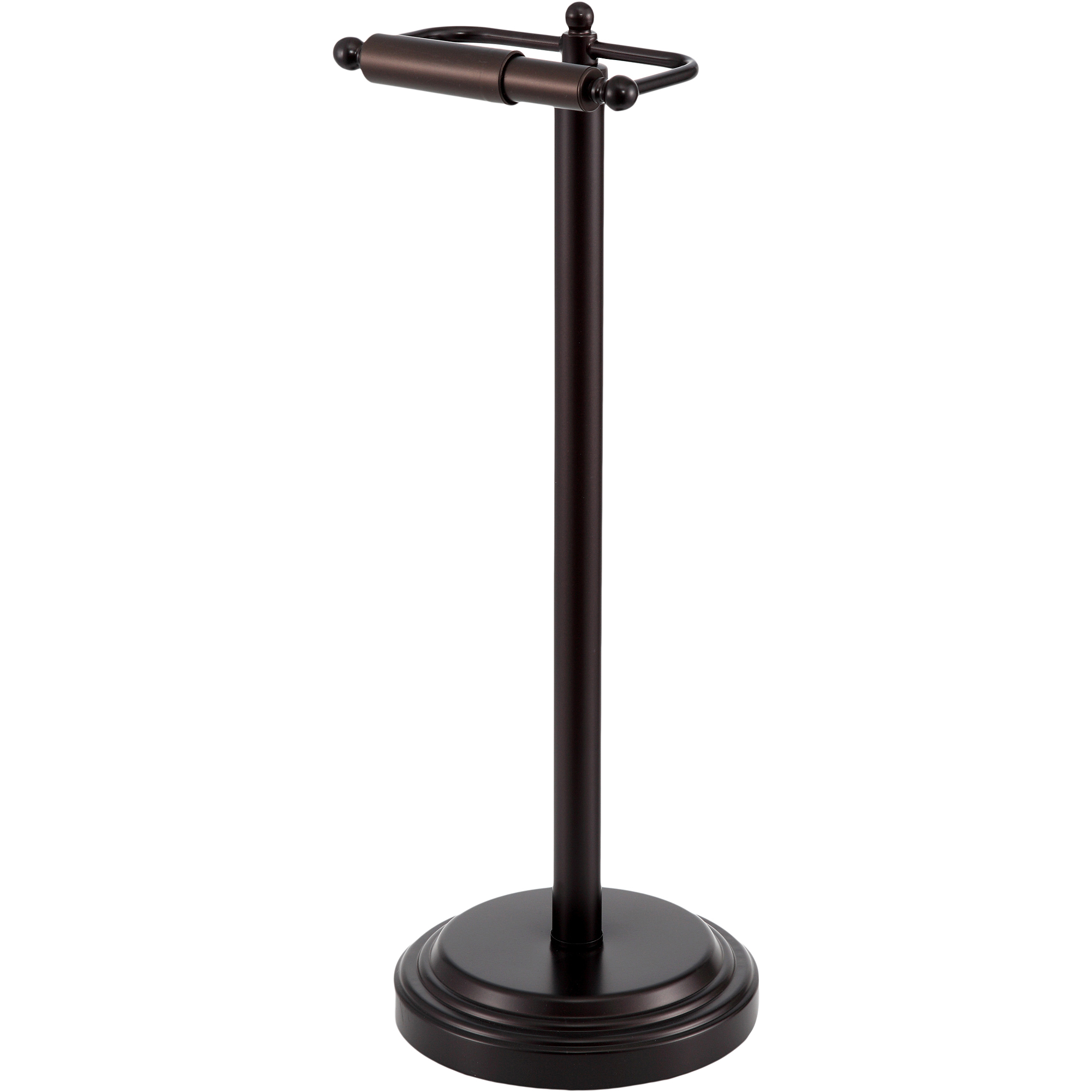 Paper Holder Stand Toilet Paper Stand Holder Oiled Bronze For Bathroom