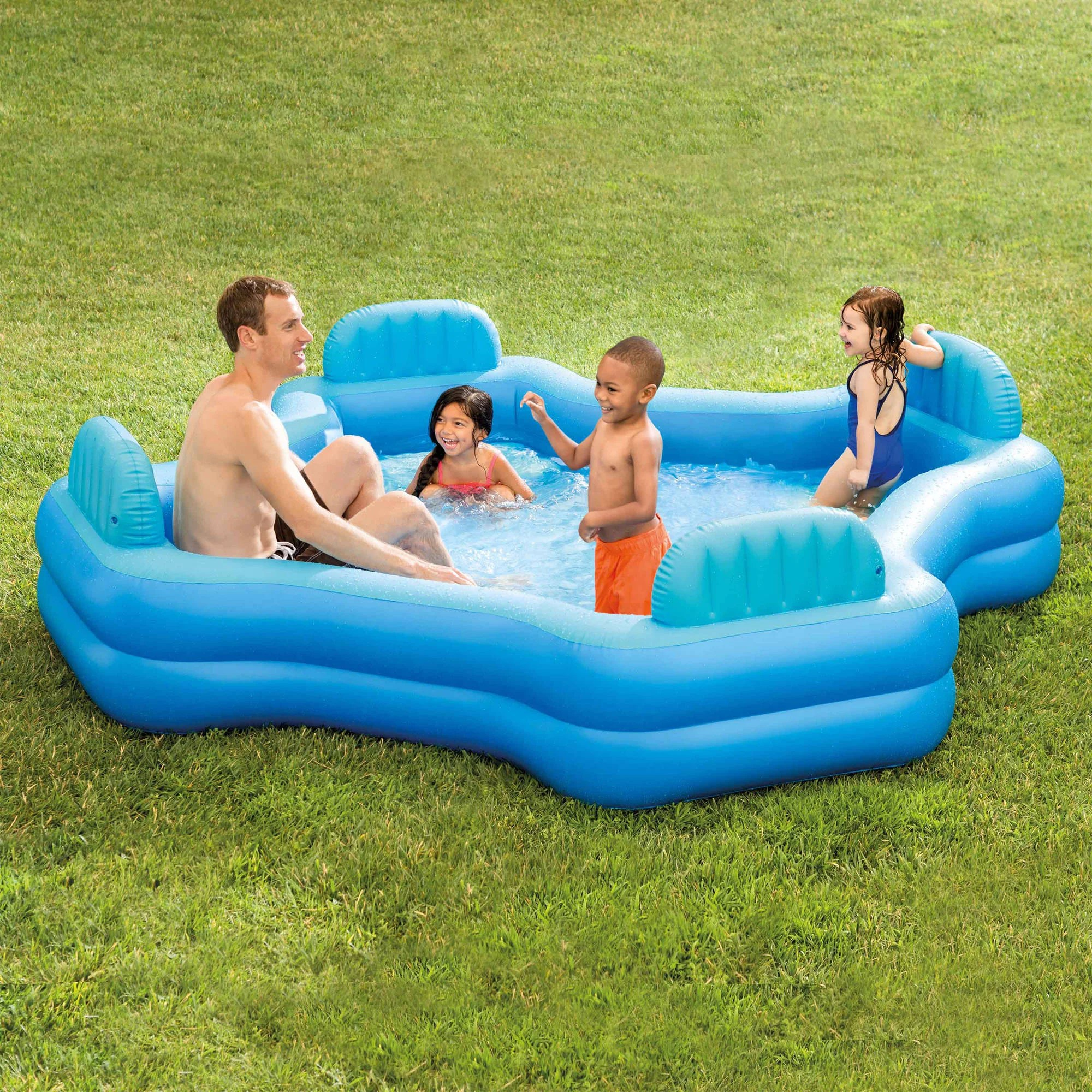 Aldi Intex Pool Intex Inflatable Swim Center Family Lounge Pool 105