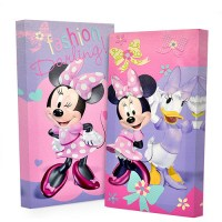 Disney Minnie Mouse Glow in the Dark 2-Pack Canvas Wall ...