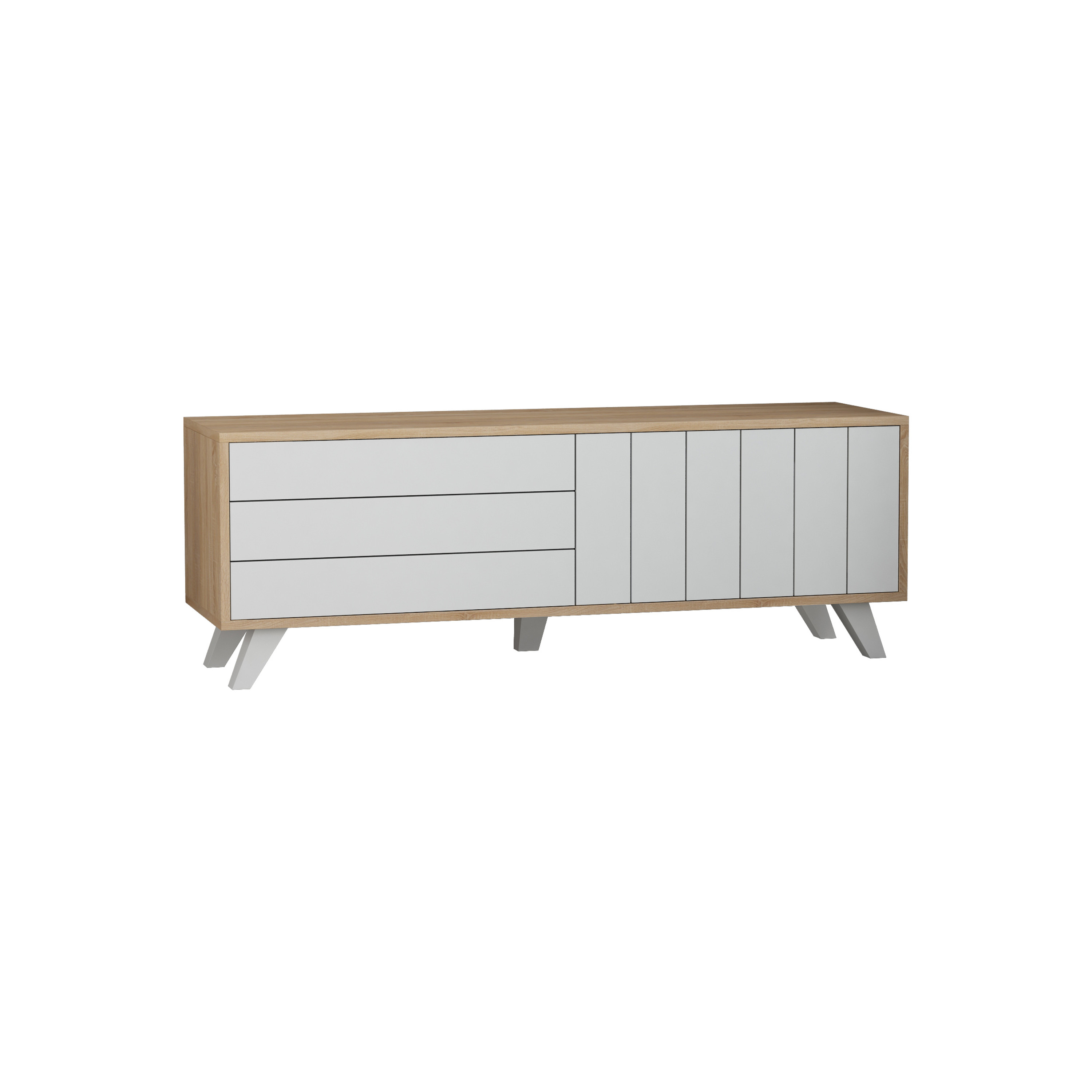 Tv Sideboard Modern Ada Home Decor Tempo Modern Tv Stand