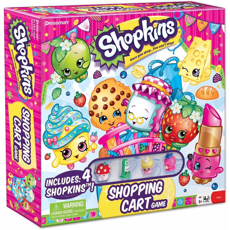 Pressman Toy Shopkins Supermarket Scramble Game Walmart