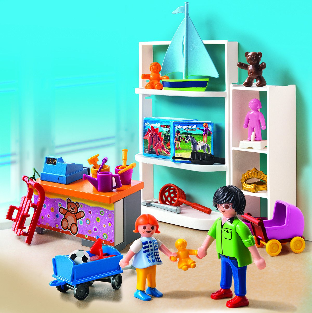 Playmobil City Life Küche Müller Playmobil 5488 City Life Toy Shop