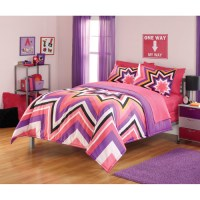 Your Zone Razzle Dazzle Comforter Set - Walmart.com