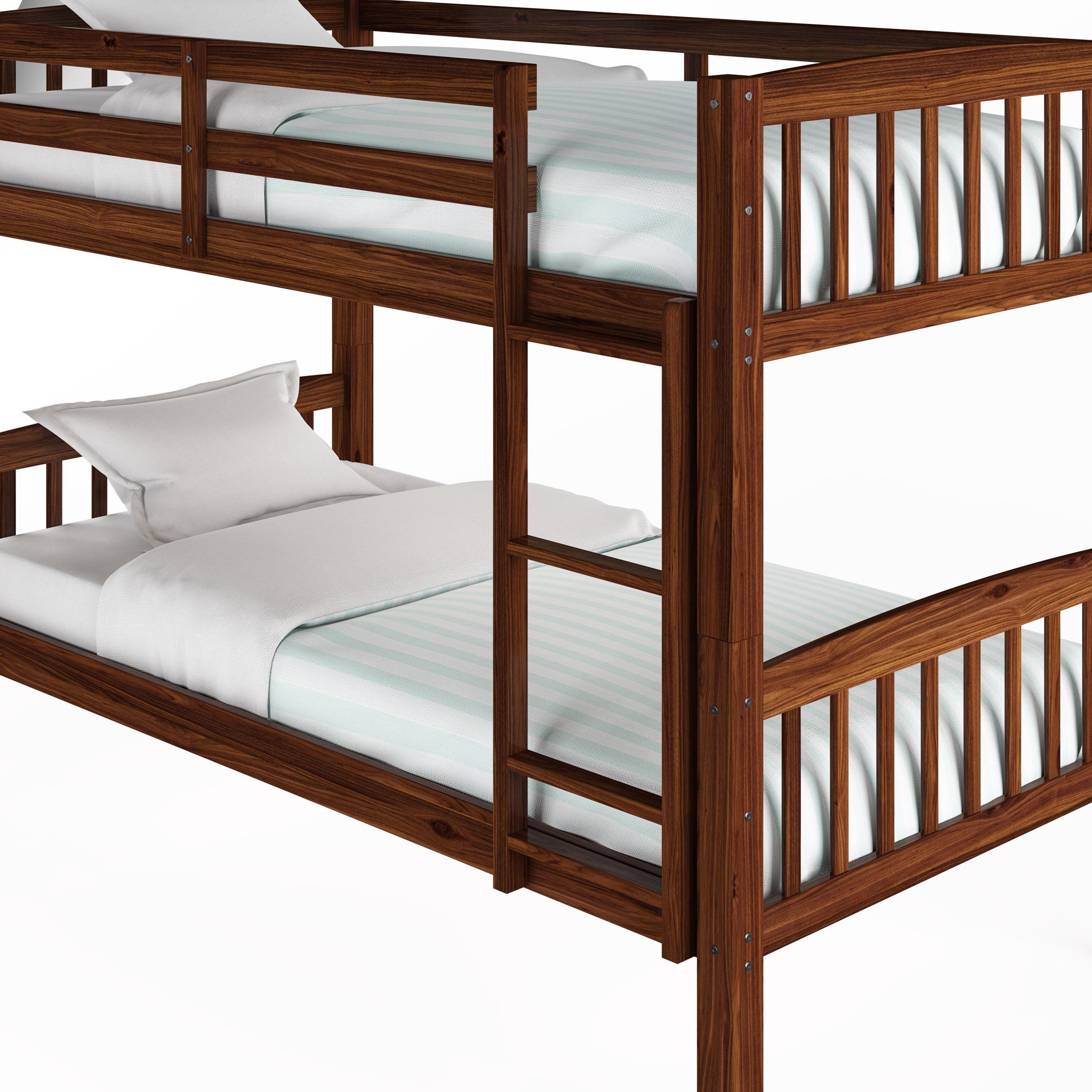 Saturn Bunk Bed Corliving Dakota Twin Single Bunk Bed Multiple Colors