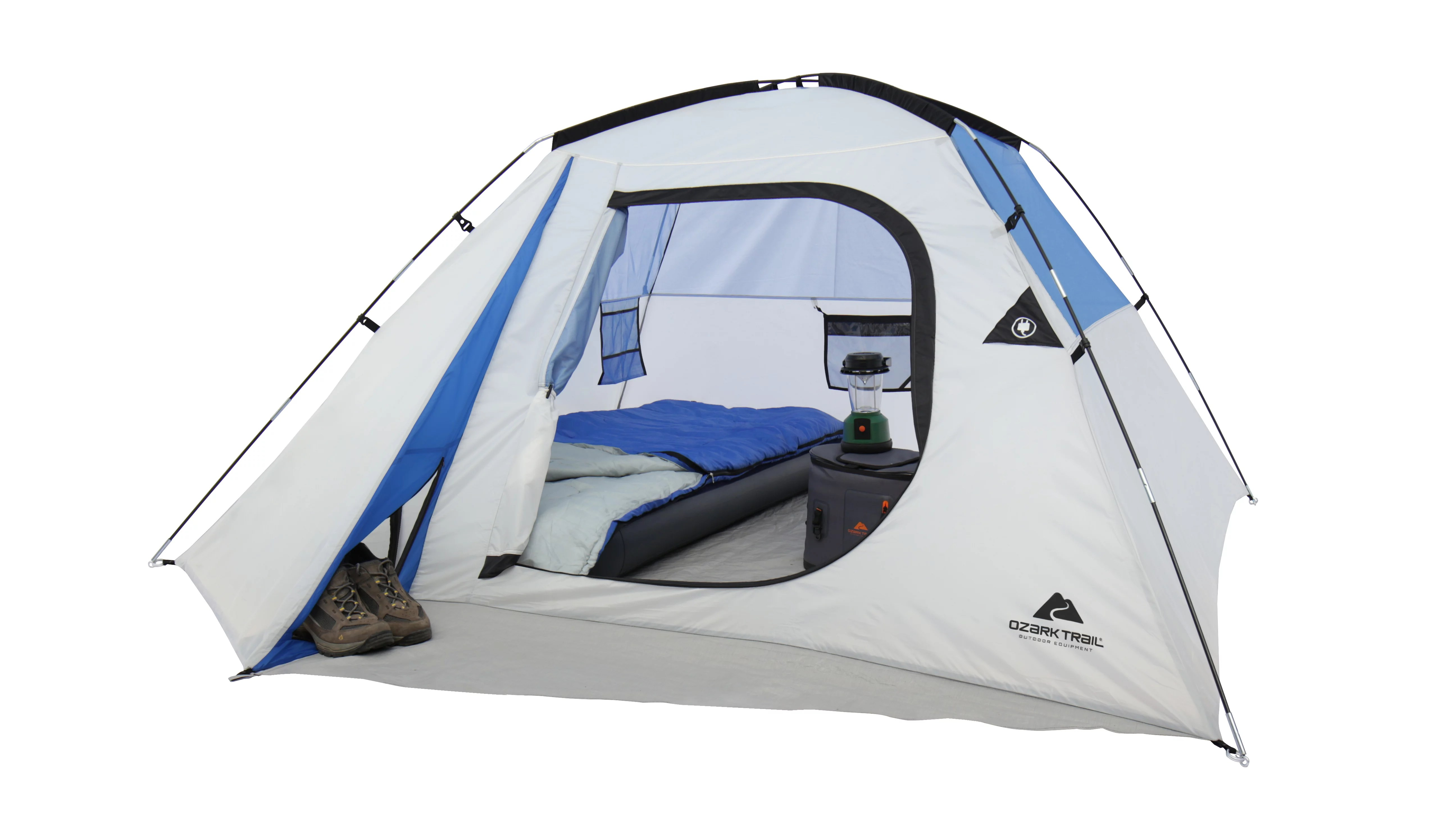 4 Camping Ozark Trail 4 Person Camping Dome Tent Walmart