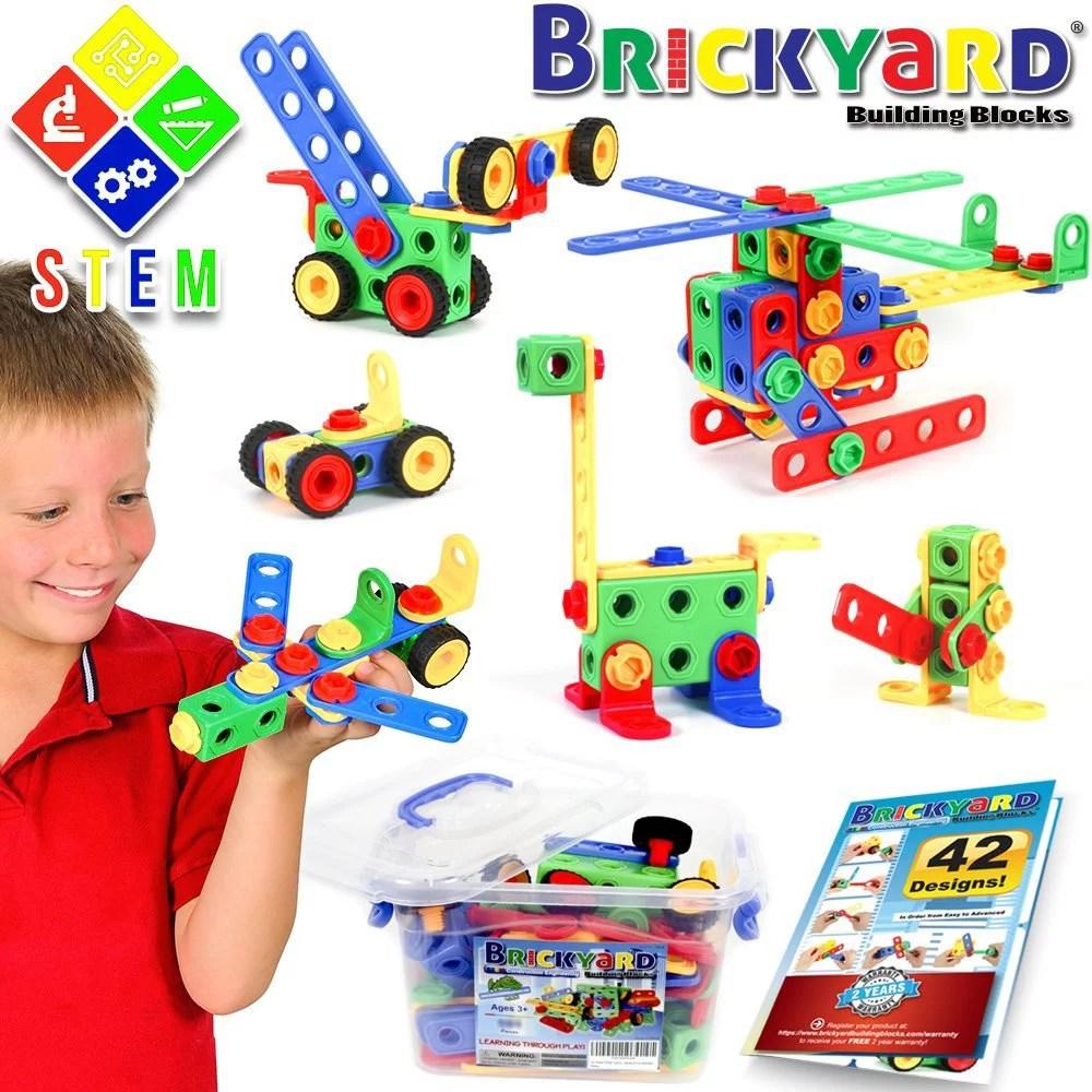 101 Piece Stem Toys Kit Educational Construction