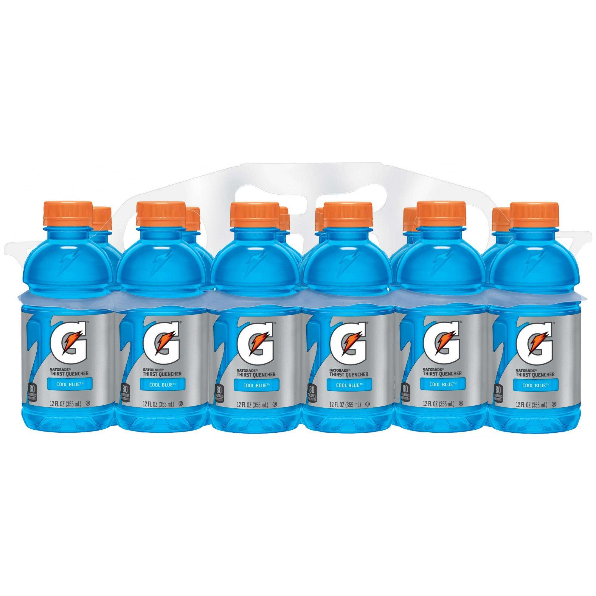 Cool Blue Paint Gatorade Thirst Quencher Cool Blue Drink 12 Fl Oz 12 Count