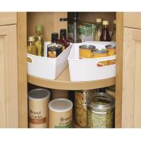 InterDesign Lazy Susan kitchen Cabinet Organizer Storage ...