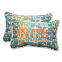 Pillow Perfect Outdoor/ Indoor Quibble Sunsplash ...