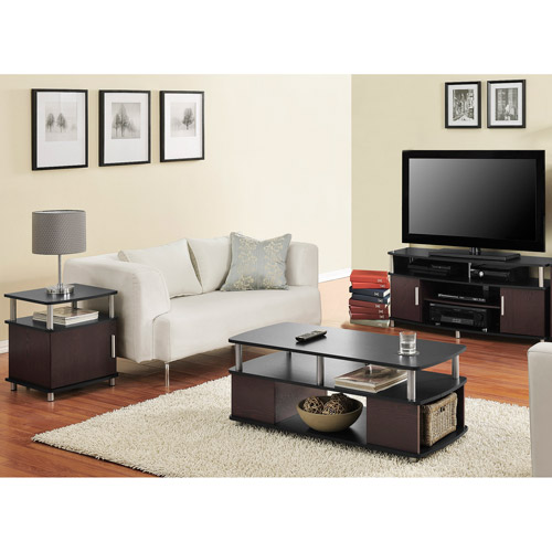 Carson 3-Piece Living Room Set, Multiple Finishes - Walmart - 3 piece living room sets