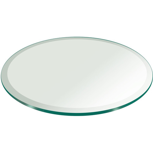 16quot Round Tempered Glass Table Top Walmartcom