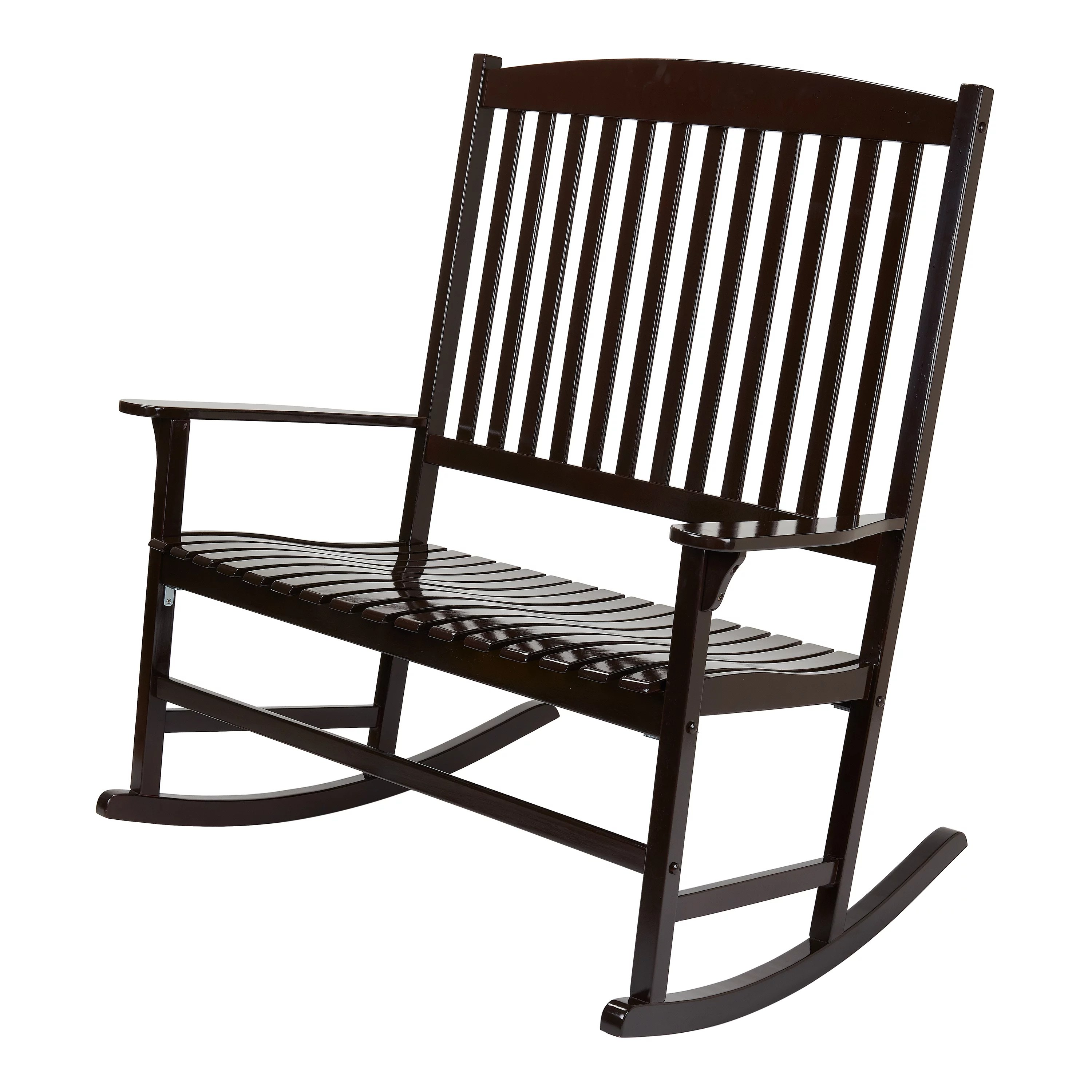 Rocking Chair Mainstays Outdoor 2 Person Double Rocking Chair
