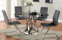 5-Pc Round Dining Table Set - Walmart.com