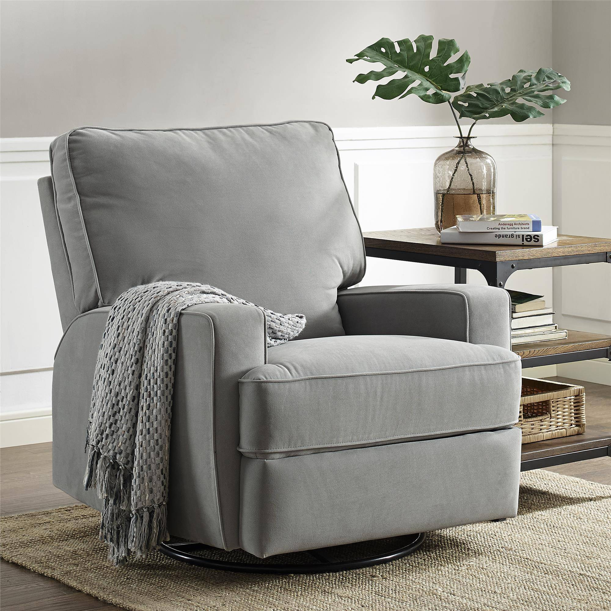 Baby Nursing Chair Details About Baby Relax Rylan Swivel Gliding Reclinergray Rocking Nursing Chair Indoor