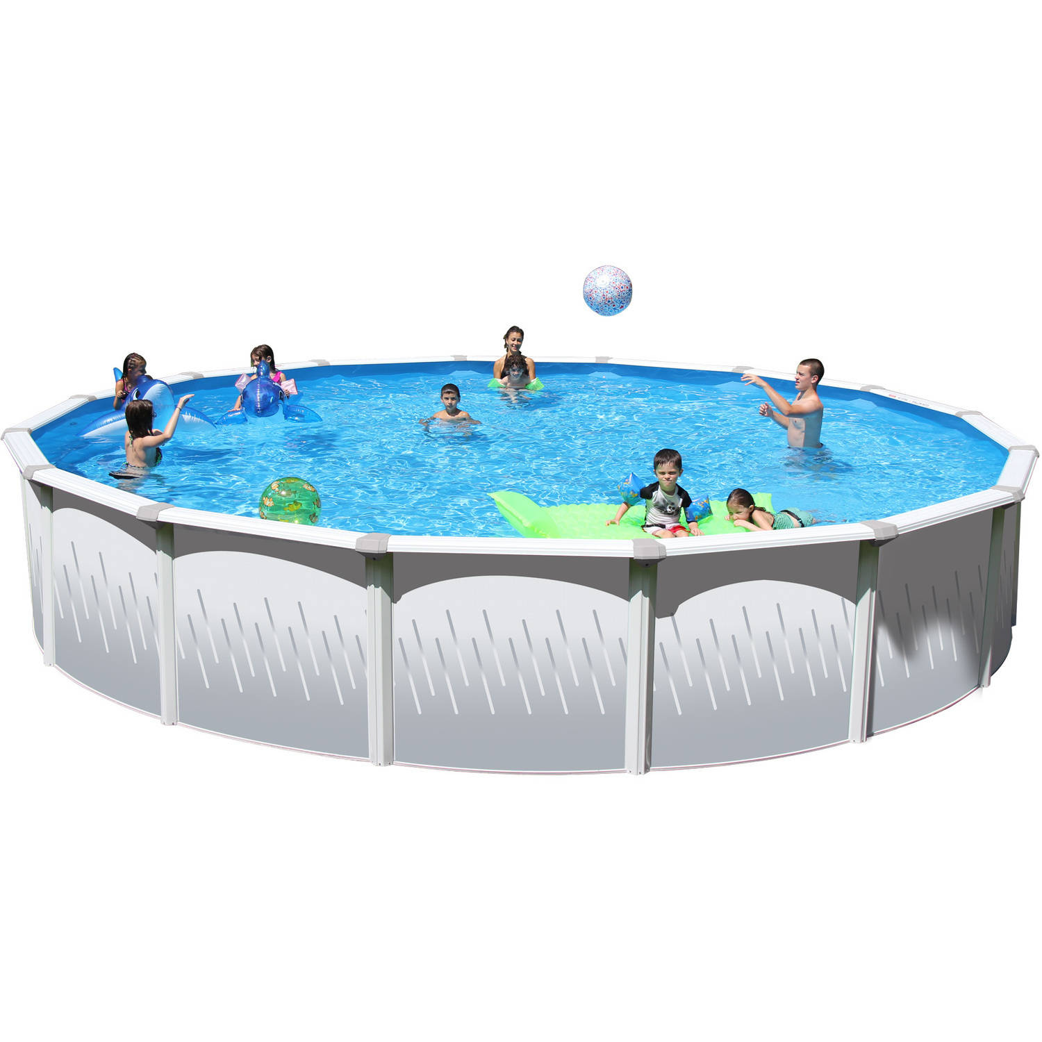 Frame Pool Rund 300 X 100 Metal Frame Pools Walmart