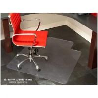 "Es Robbins Chair Mat - 60"" Length X 46"" Width - Vinyl ..."