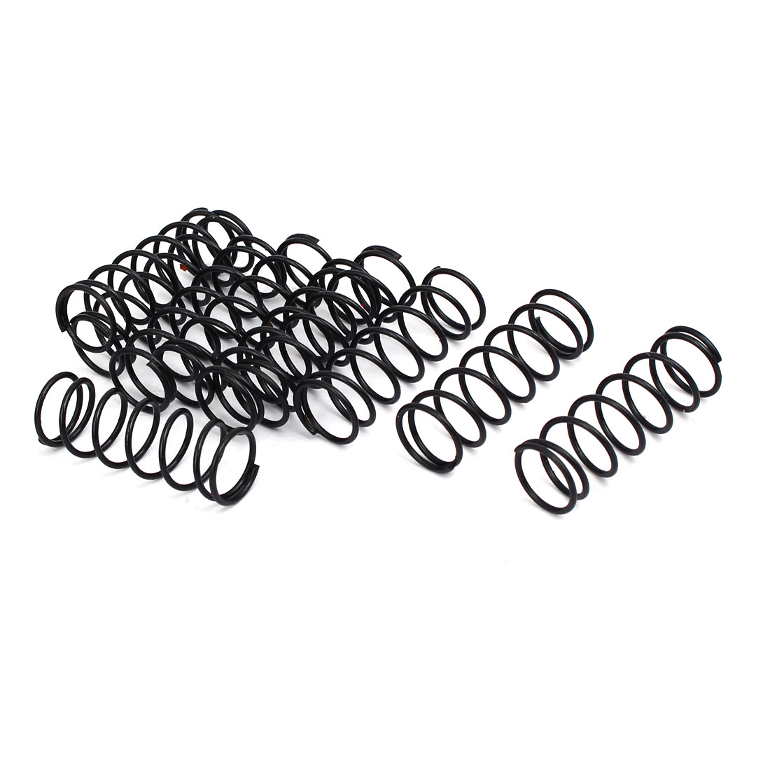 Compression Springs 1 2mm Wire Dia 14mm Outer Diameter 40mm Long Compression Springs Black 10pcs