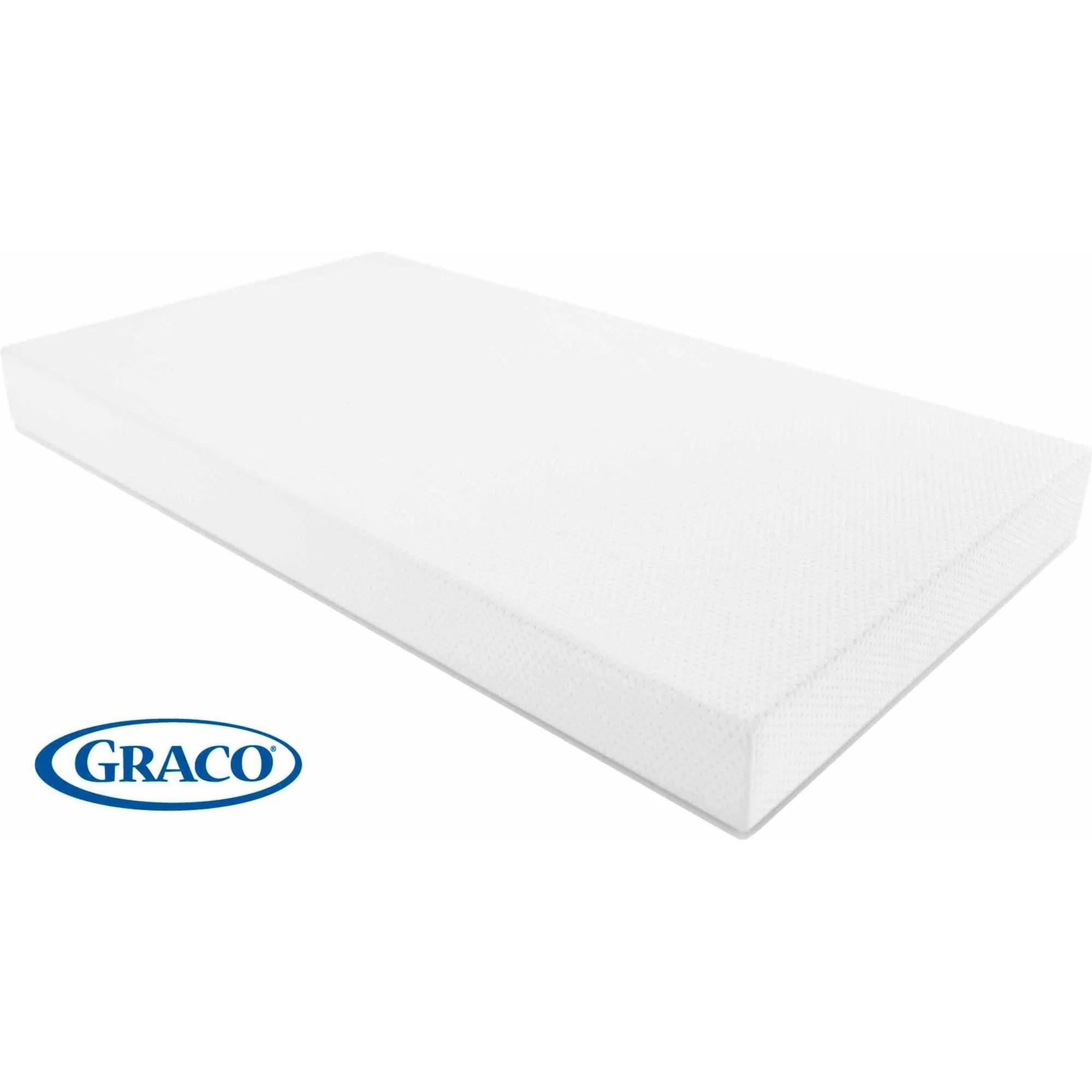 Graco Premium Crib And Toddler Bed Mattress Foam