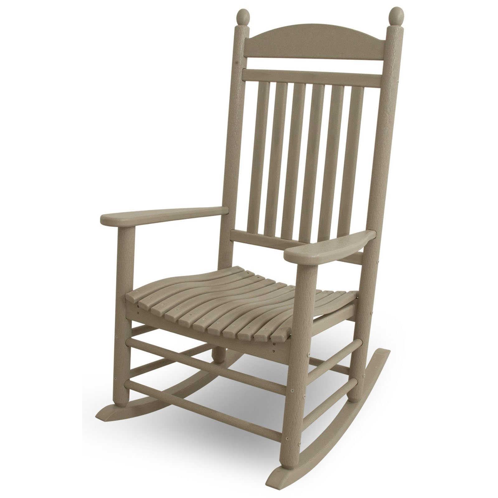 Best Place To Buy Rocking Chairs Polywood Jefferson Recycled Plastic Rocking Chair