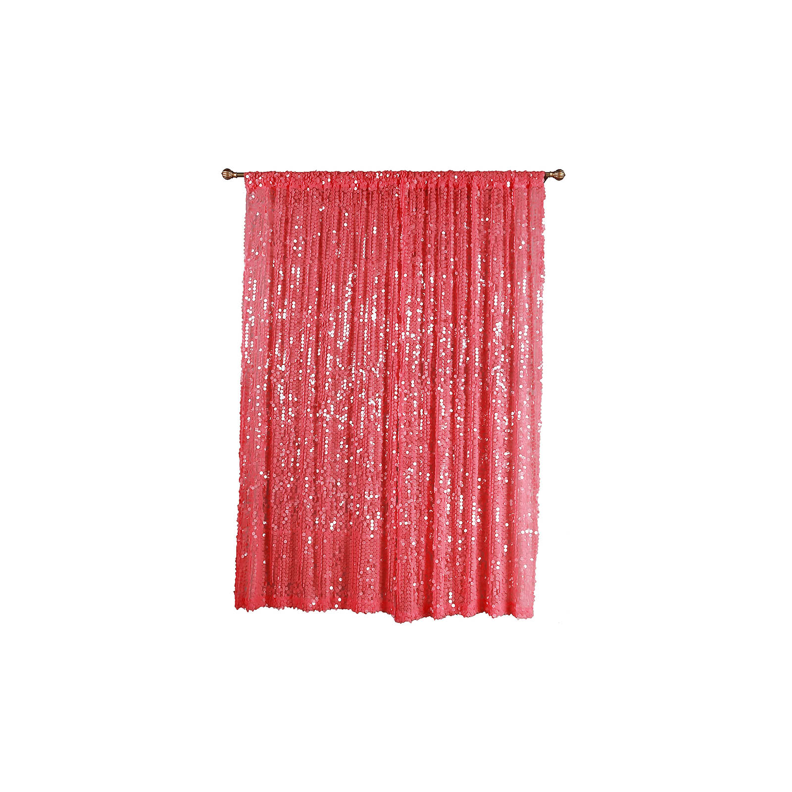 Pink Sequin Curtains Balsacircle 52 X 96 Inch Big Payette Sequin Curtains Drapes Panels Window Treatments Home Decorations
