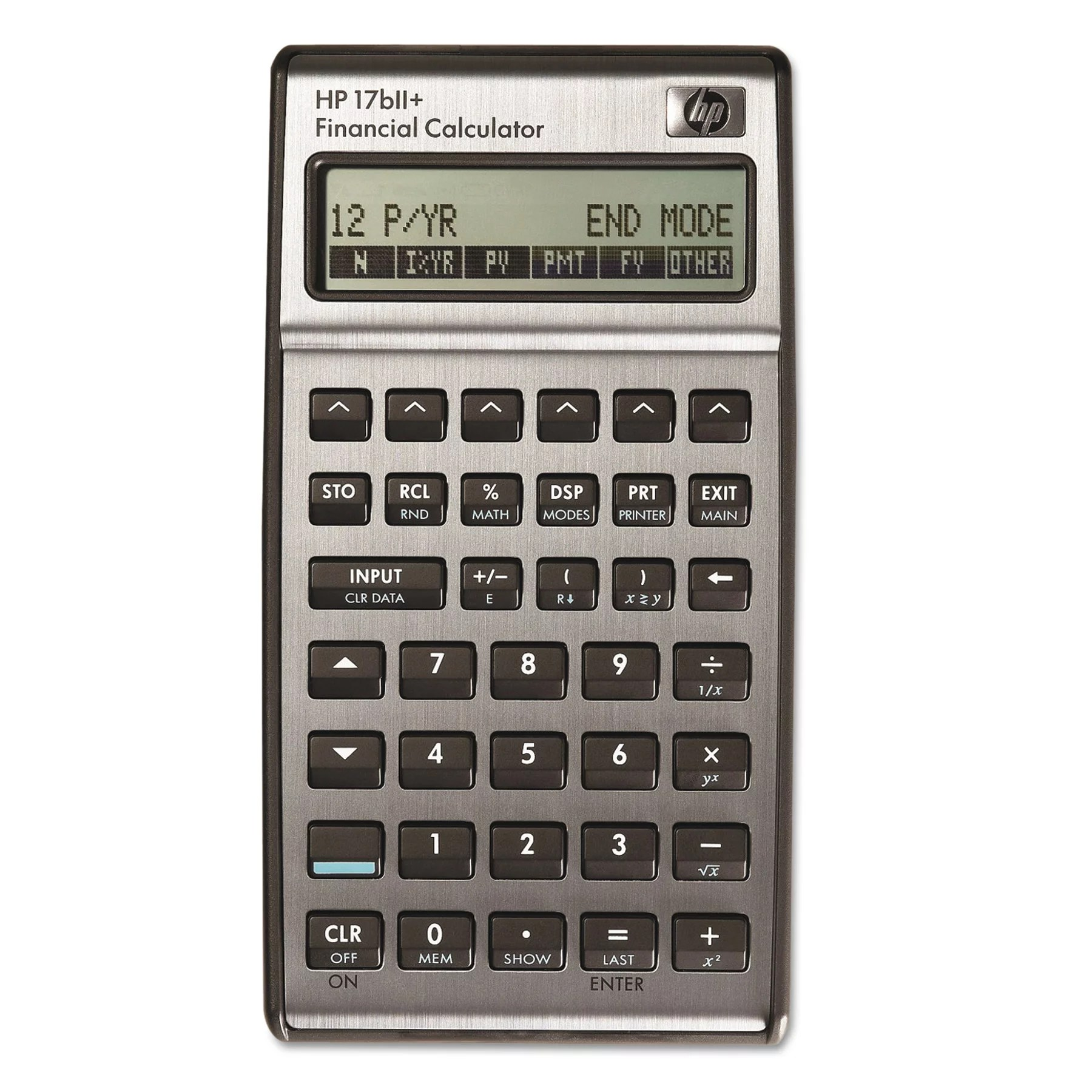 HP 17bII+ Financial Calculator, 22-Digit LCD - Walmart - financial calculator