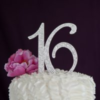 Sweet 16 Cake Topper 16th Birthday Party Supplies ...