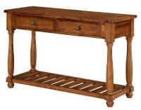 Sofa Table in Acacia Finish - Walmart.com
