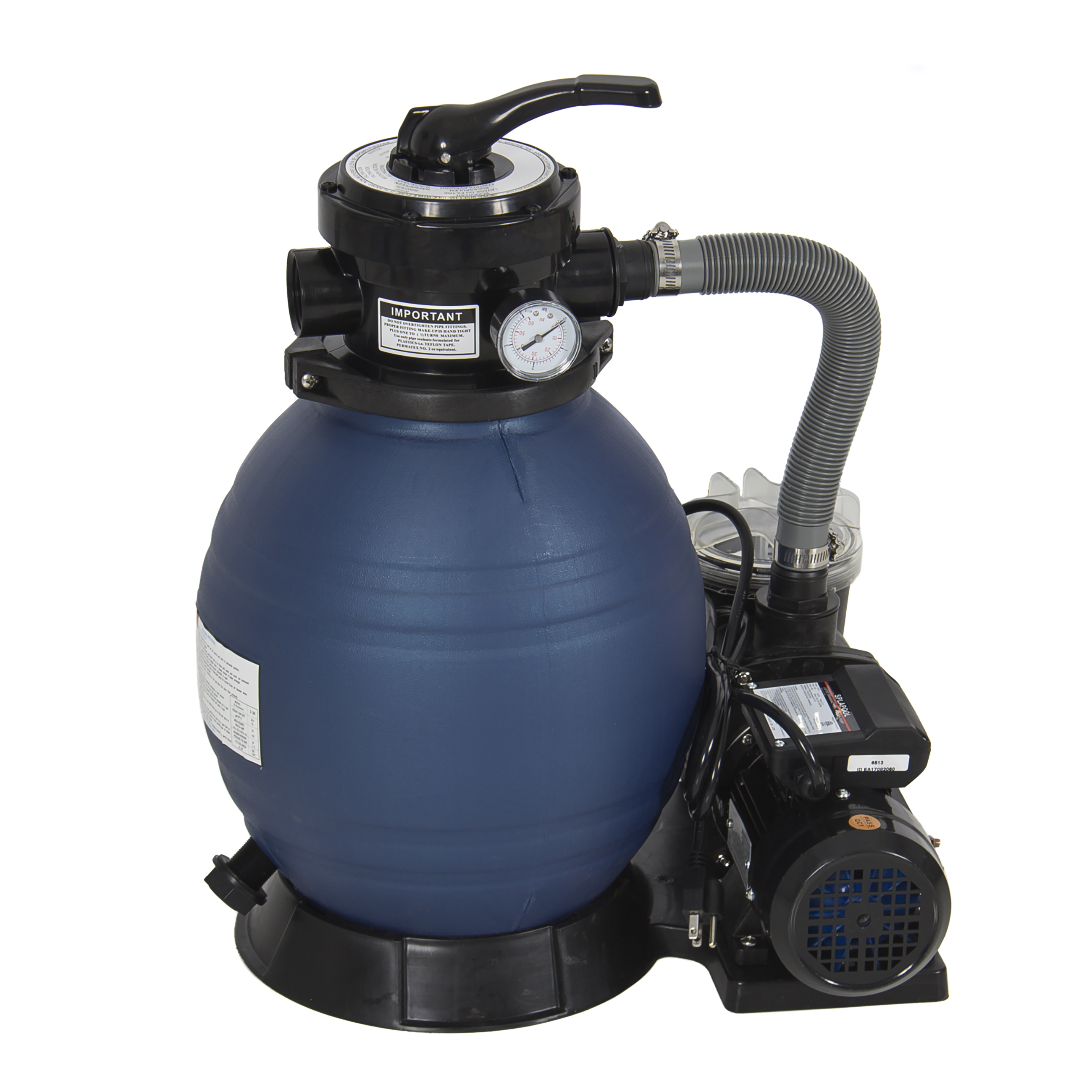 Pool Filter Pump Pressure Best Choice Products Pro 2400gph 13