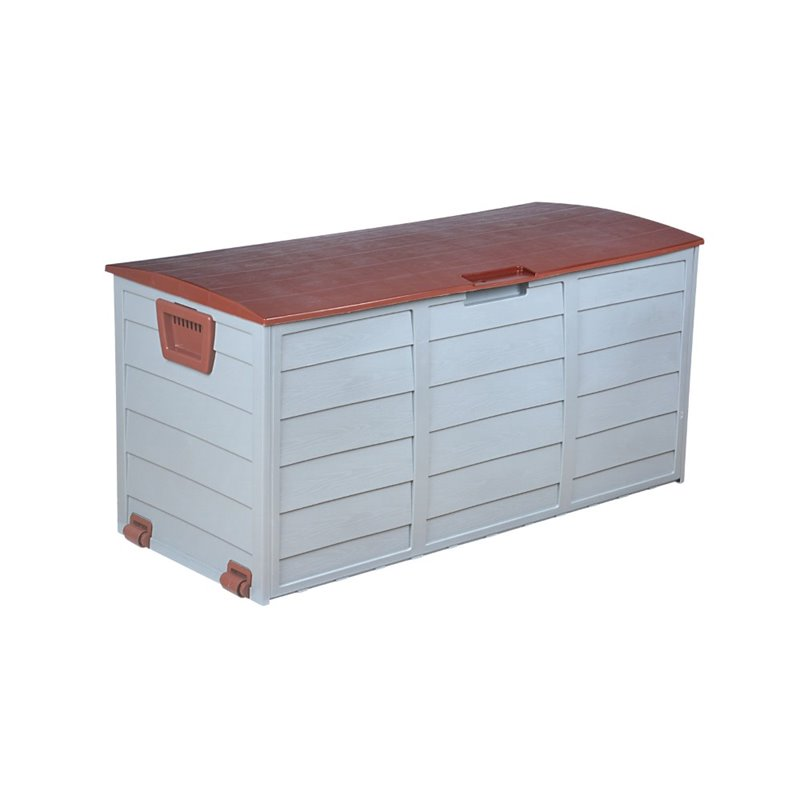 W Unlimited Voyage Outdoor Storage Cabinet in Gray and