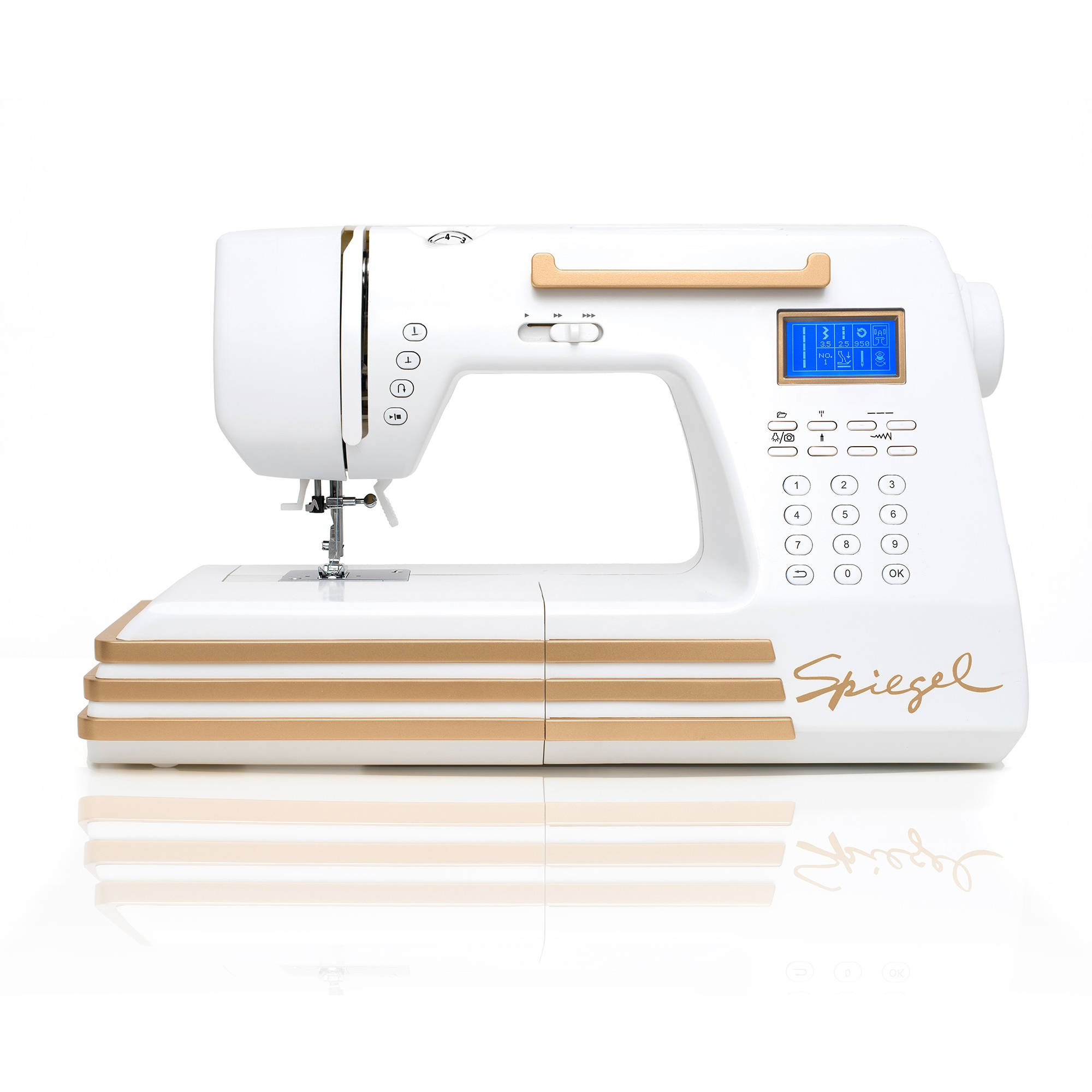 Spiegel Online Shop Spiegel 60609 Computerized Sewing Machine