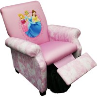 Disney - Princess Hearts and Crowns Deluxe Recliner ...