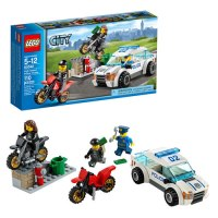 LEGO City Police High Speed Police Chase Building Set ...