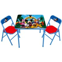 Disney - Mickey Mouse Clubhouse Activity Table and Chairs ...