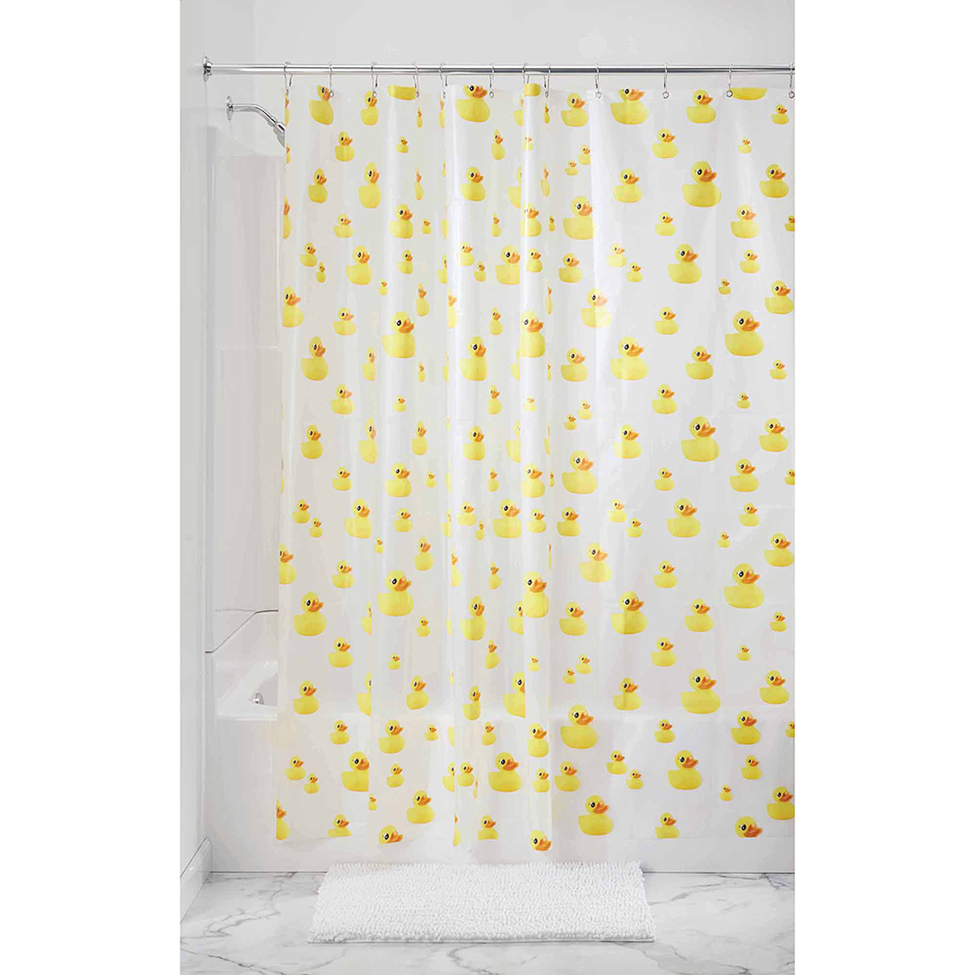 Cute Girly Shower Curtains Mainstays Kids Woodland Creatures Fabric Shower Curtain 1 Each