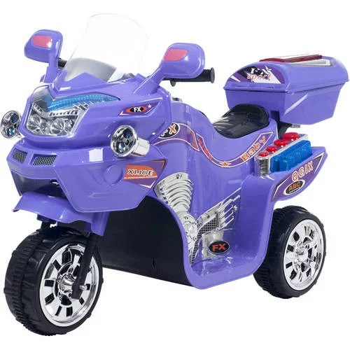 Ride On Toy 3 Wheel Motorcycle Trike For Kids By Rockin