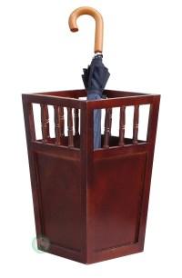 Roman Wood Umbrella Holder - Walmart.com