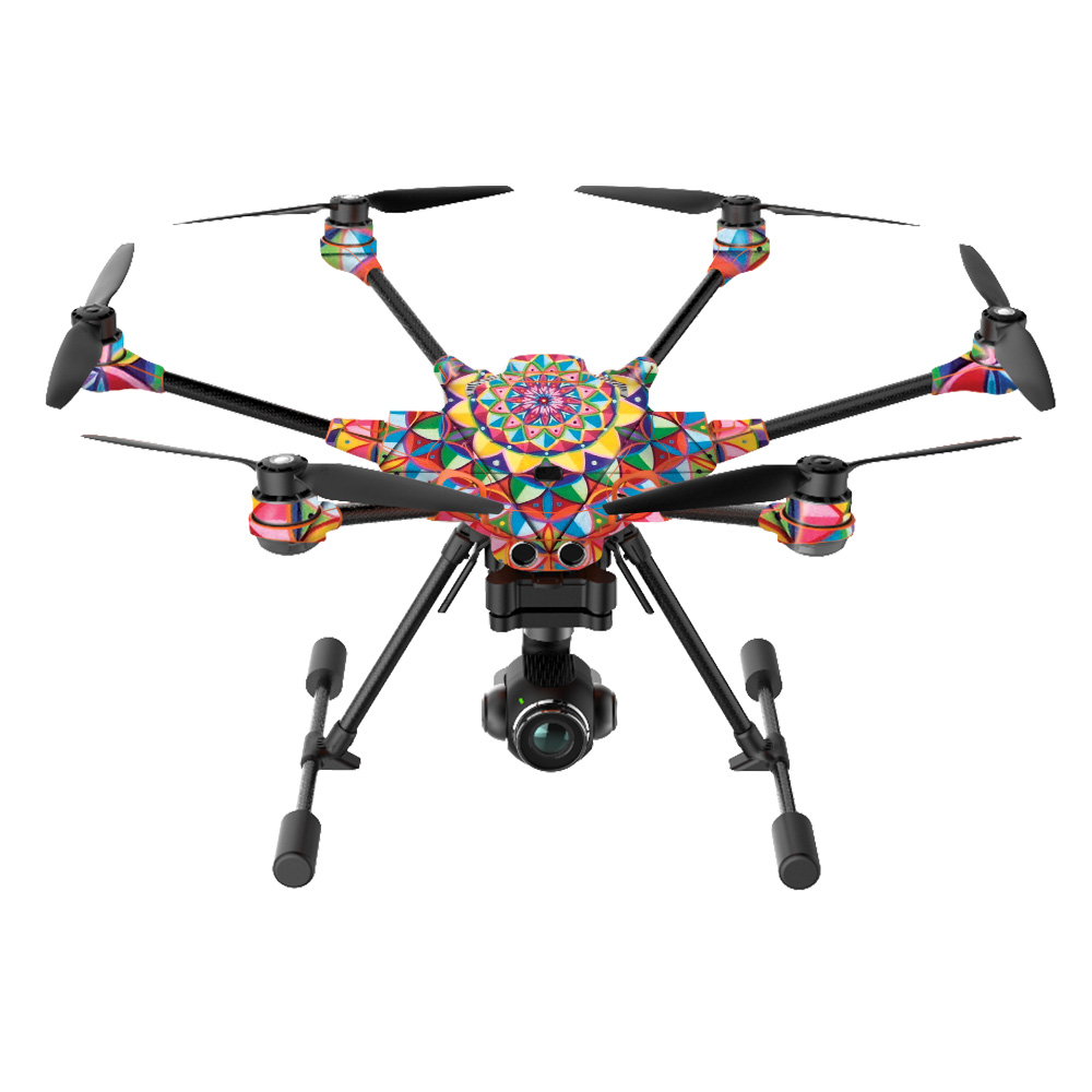 Abc Rainbow City Al Skin For Yuneec H520 G Drone Mix Collection Walmart