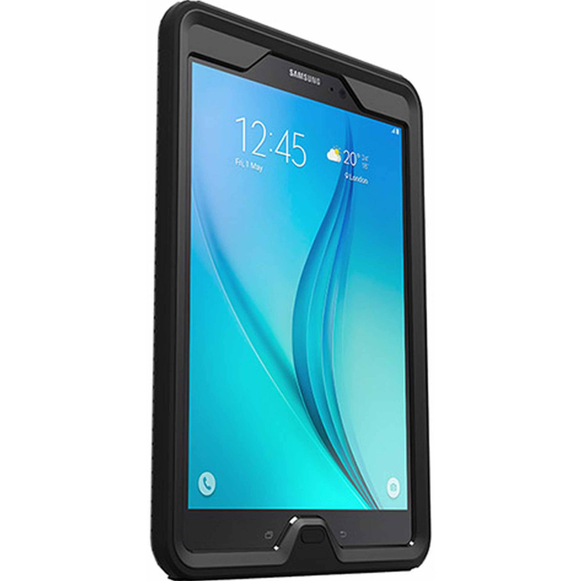 Galaxy Tab 9.7 Otterbox Defender Series Case For Samsung Galaxy Tab A 9 7 Black