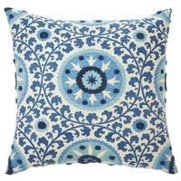 Jiti Pillows Tribal Decorative Pillow in Azure - Walmart.com