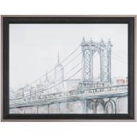 Watercolor Sketch Book New York City Wall Art - Walmart.com
