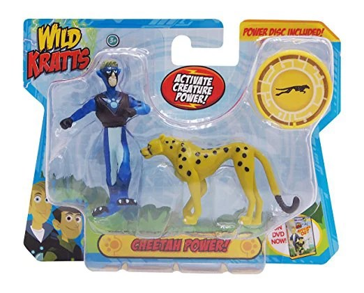 Wild Kratts Toys 2 Pack Creature Power Action Figure Set