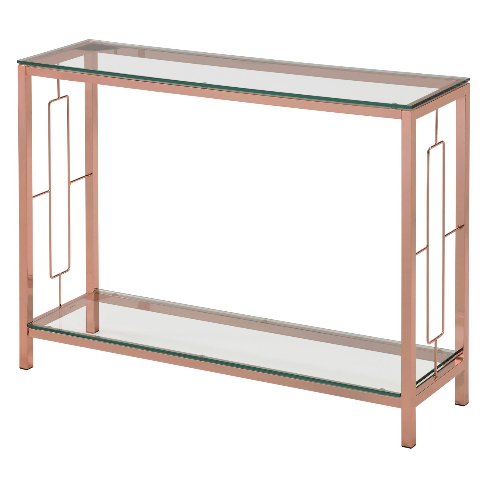 Glass Top Console Table Nspire Console Table With Glass Top