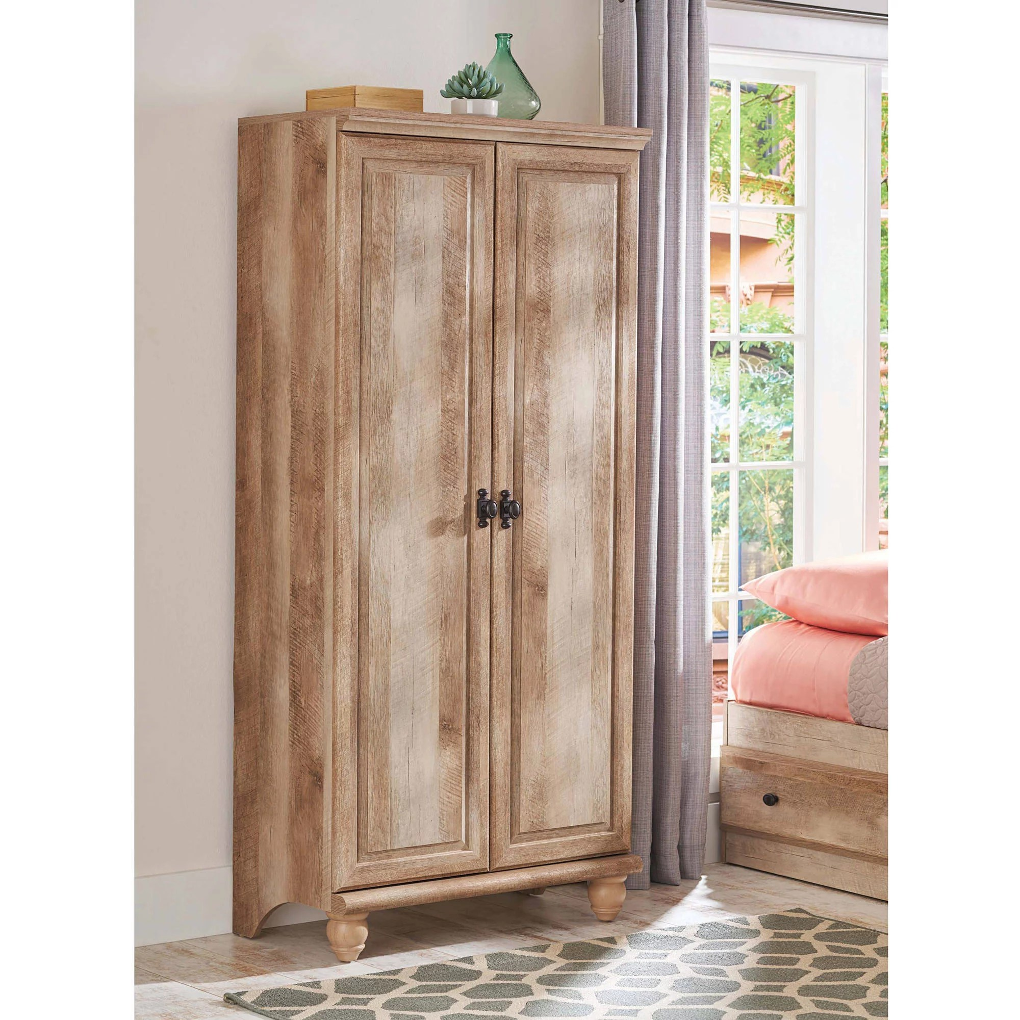 Storage Closet Better Homes And Gardens Crossmill Storage Cabinet Weathered Finish